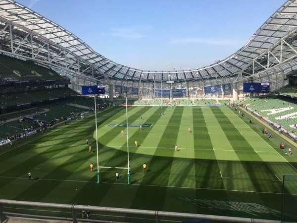 Aviva Stadium, section: 514, row: C, seat: 16