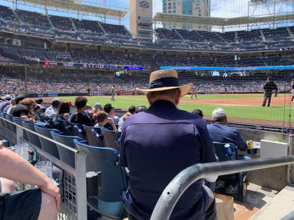 PETCO Park, section: 115, row: 4, seat: 1