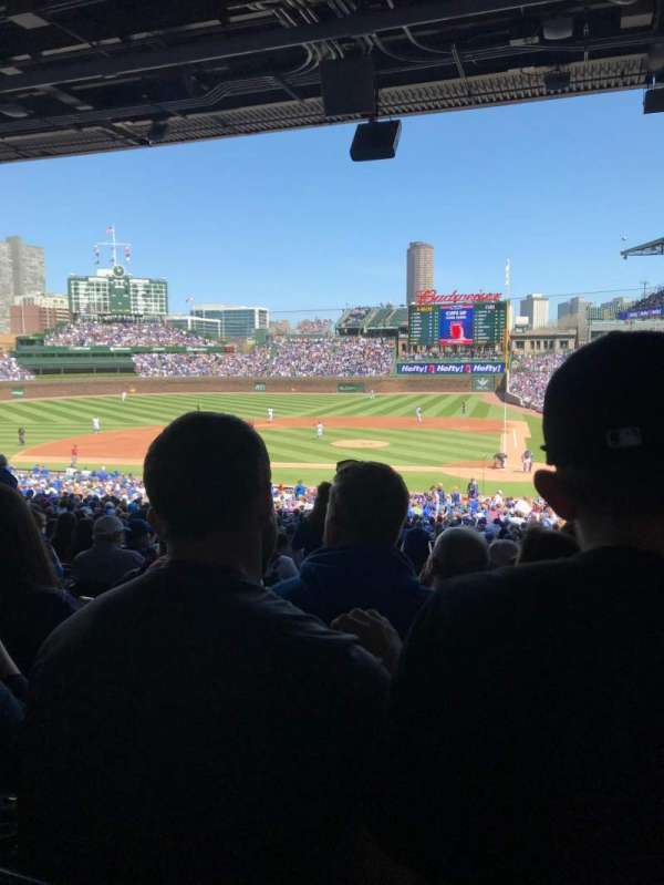 Wrigley Field, section: 214, row: 11, seat: 4