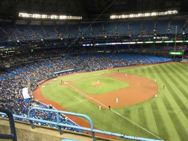 Rogers Centre, section: 513R, row: 3, seat: 2