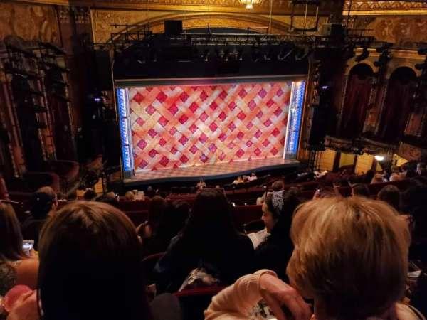 Brooks Atkinson Theatre, section: Rear Mezzanine LC, row: K, seat: 127