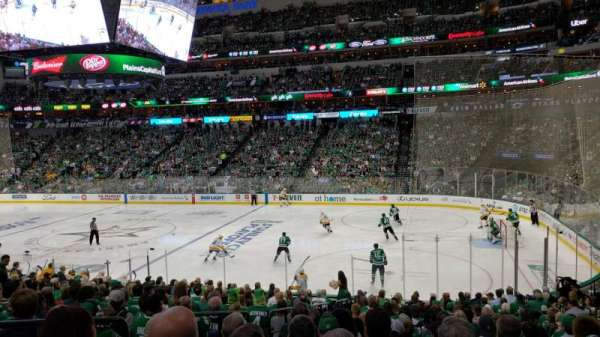 AMERICAN AIRLINES CENTER, section: 116, row: V, seat: 17
