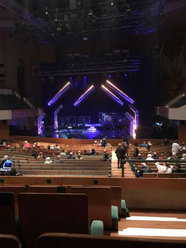 St David's Hall, section: Tier 1, row: EE, seat: 16