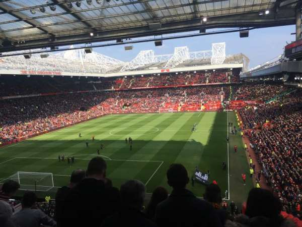 Old Trafford, section: W3106, row: 4, seat: 17