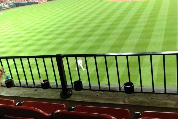 Busch Stadium, section: LP3, row: 3, seat: 15