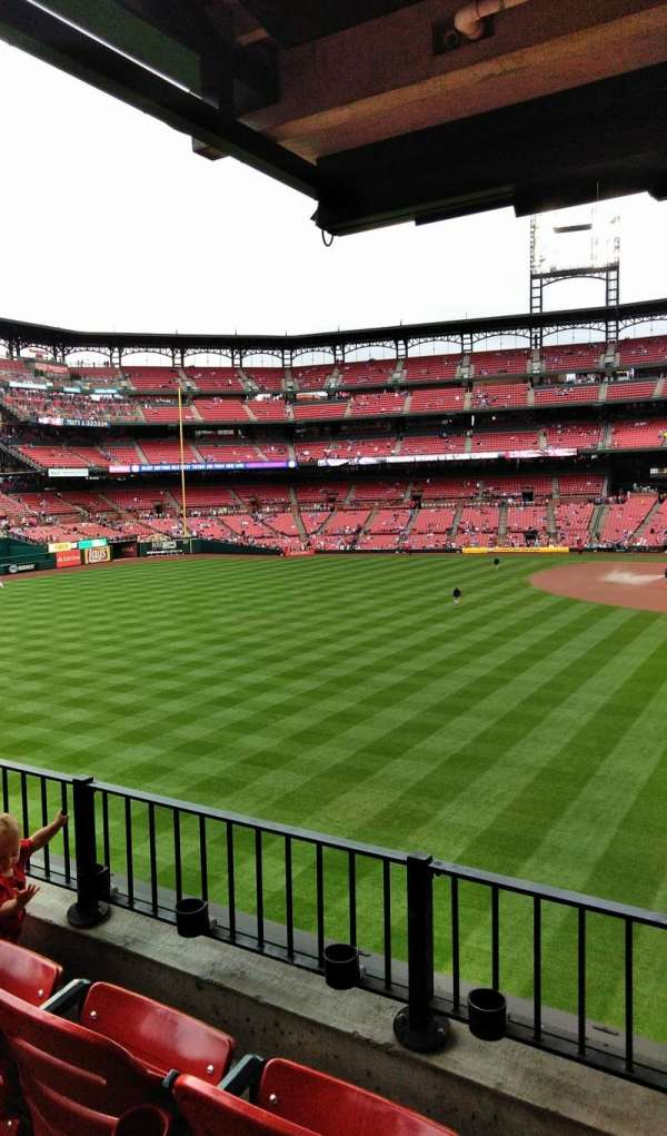 Busch stadium , section: LP3, row: 3, seat: 15