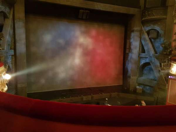 Queen's Theatre, section: Dress Circle, row: B, seat: 22