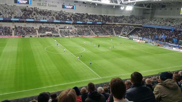 Tele2 Arena, section: B306, row: 9, seat: 268