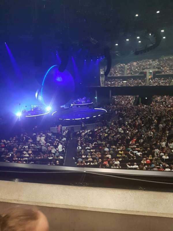 The SSE Hydro, section: 204, row: B, seat: 69