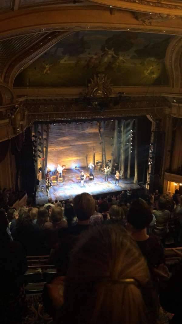 Hippodrome Theatre, section: Left Upper Balcony, row: P, seat: 219
