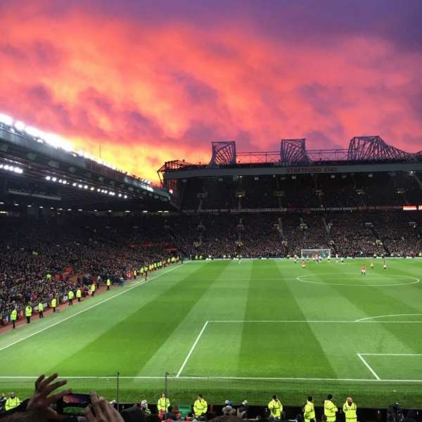 Old Trafford, section: E332, row: 13, seat: 37