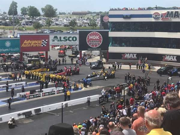 zMAX Dragway, section: F, row: 23, seat: 9