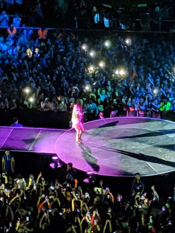 The O2 Arena, section: 421, row: C, seat: 963