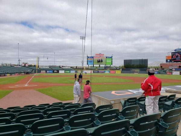 Louisville Slugger Field, section: 112, row: J, seat: 5