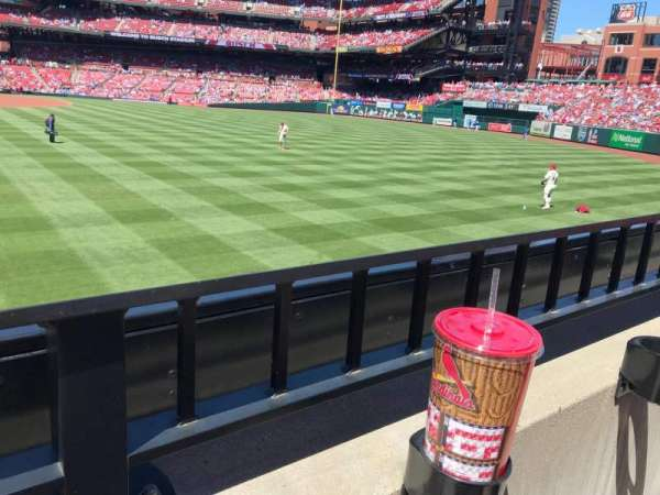 Busch Stadium, section: 127, row: 1, seat: 14-15