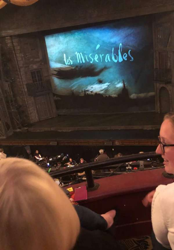 Citizens Bank Opera House, section: Dress Circle RC, row: BB, seat: 6,8,10,12,14