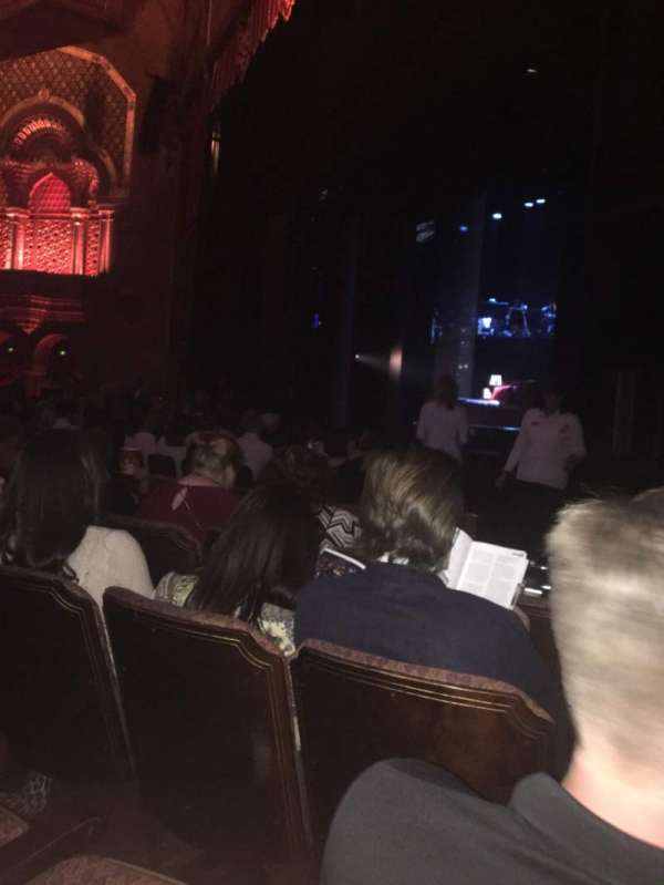 Fox Theatre (Atlanta), section: Orchestra Right, row: E, seat: 12