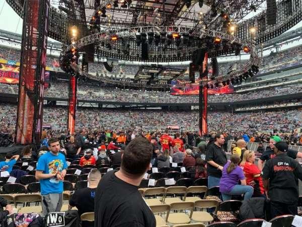 MetLife Stadium, section: F5, row: AA, seat: 6