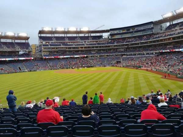 Nationals Park, section: 102, row: CC, seat: 9-10