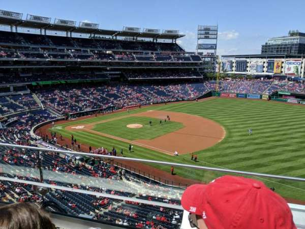 Nationals Park, section: 222, row: B, seat: 8