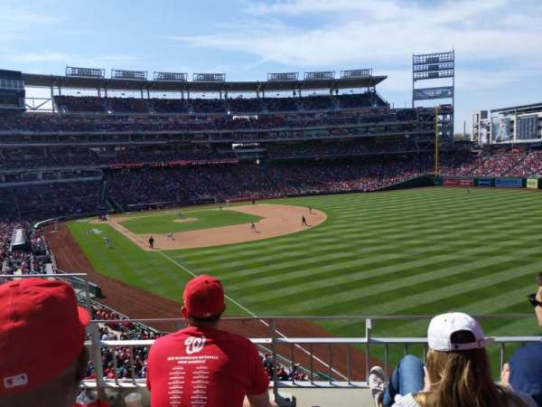 Nationals Park, section: 233, row: C, seat: 16