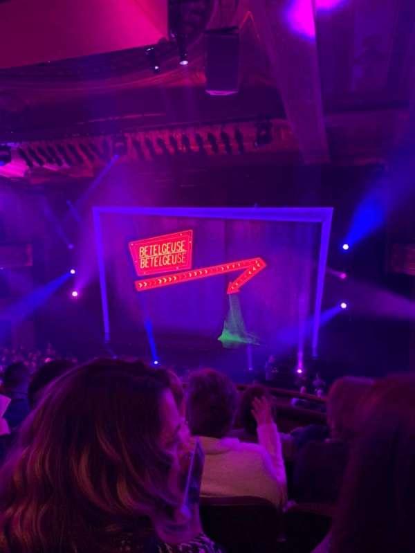 Winter Garden Theatre, section: Mezzanine RC, row: D, seat: 138