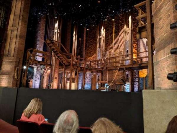 CIBC Theatre, section: Orchestra r, row: E, seat: 14