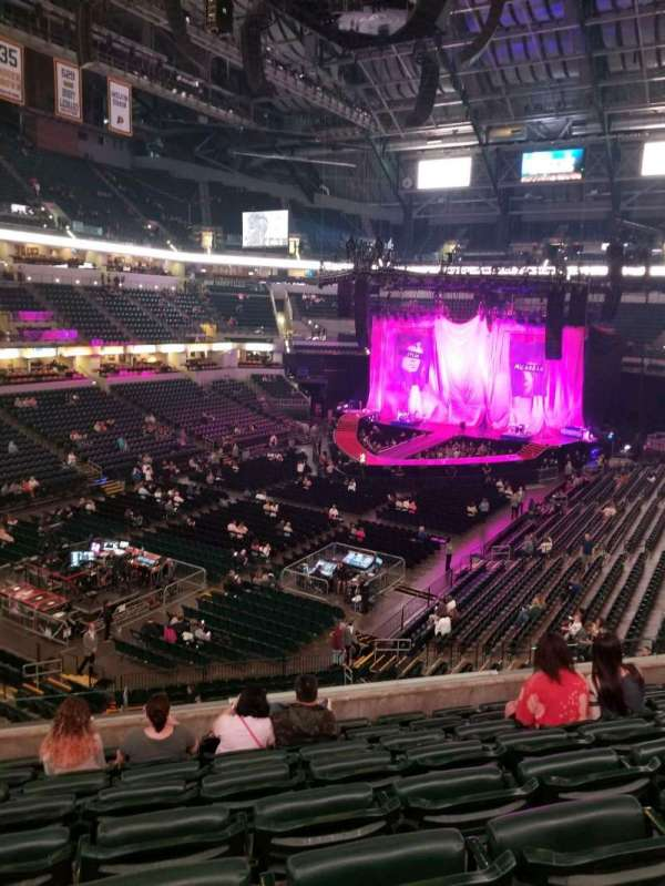 Bankers Life Fieldhouse, section: 108, row: 8, seat: 11
