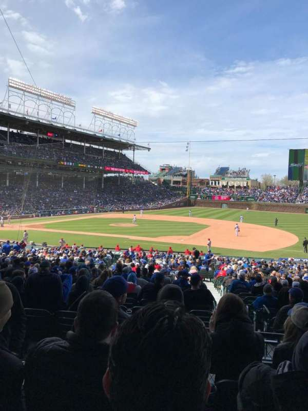 Wrigley Field, section: 226, row: 4, seat: 3
