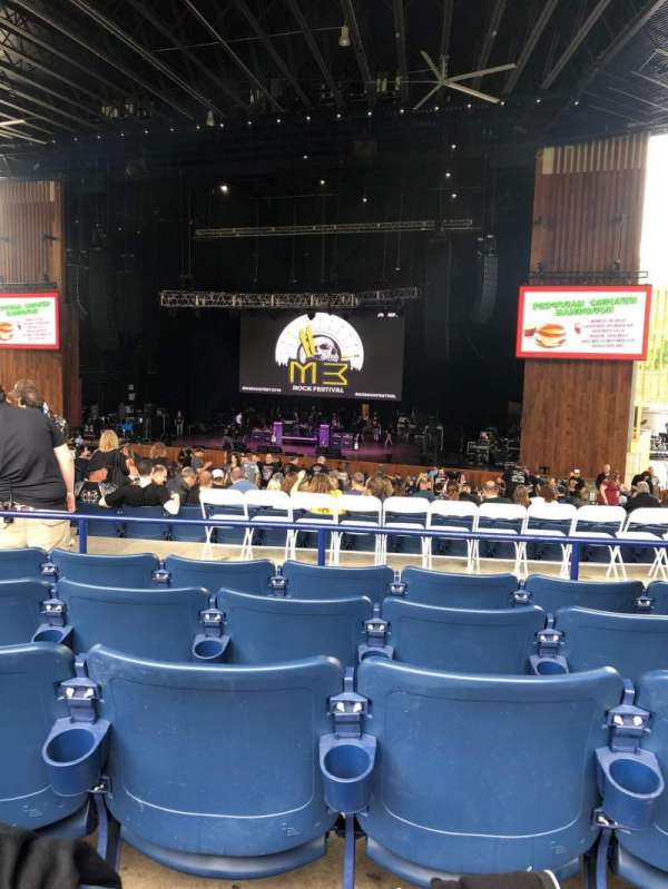 Merriweather Post Pavilion, section: 301, row: EE, seat: 8