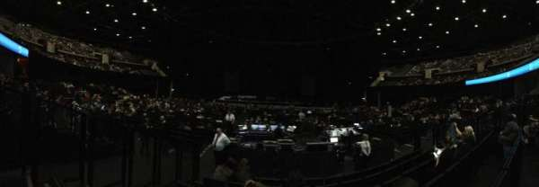 The SSE Hydro, section: 54, row: F, seat: 107