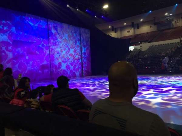Pechanga Arena, section: LL1, row: 1, seat: 3