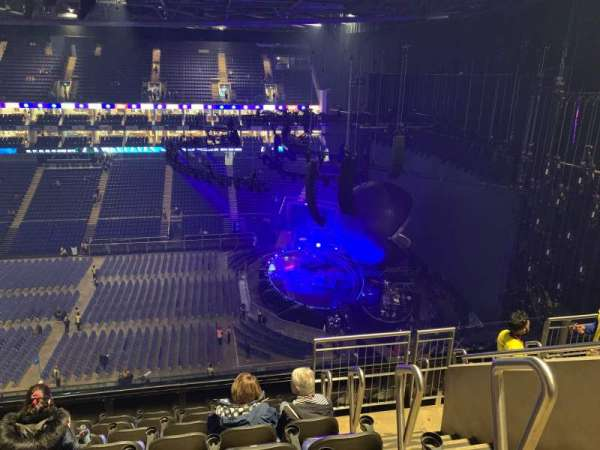 The O2 Arena, section: 421, row: H, seat: 949