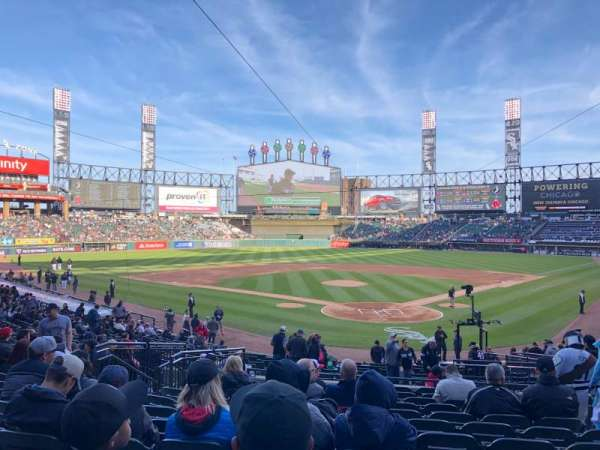 Guaranteed Rate Field, section: 133, row: 27, seat: 6