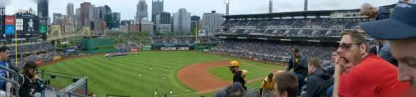 PNC Park, section: 227, row: F, seat: 13