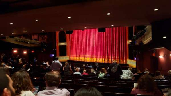 Marquis Theatre, section: Orchestra R, row: X, seat: 20