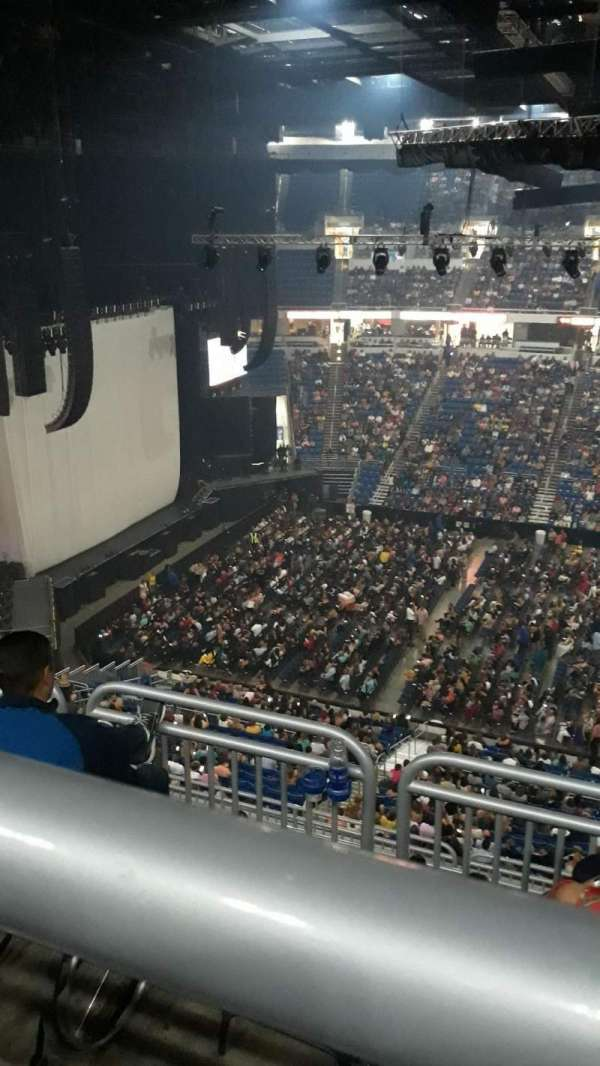 Coliseo De Puerto Rico, section: U 215, row: K, seat: 2