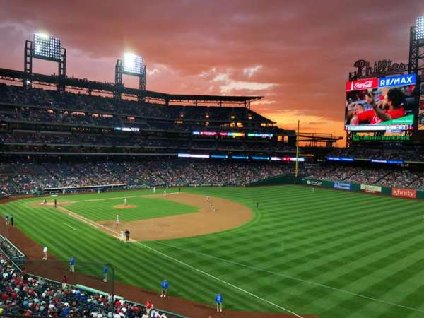Citizens Bank Park, section: 208, row: 3