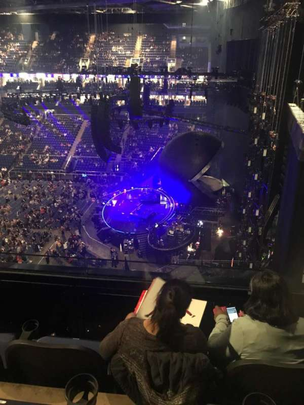 The O2 Arena, section: 422, row: C, seat: 982