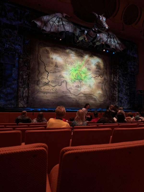 ASU Gammage, section: ORVIP1, row: 8, seat: 33