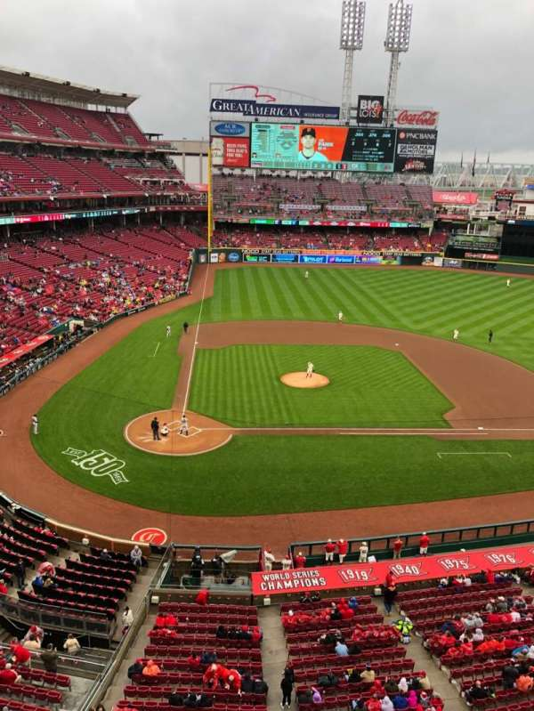 Great American Ball Park, section: 428, row: A, seat: 12