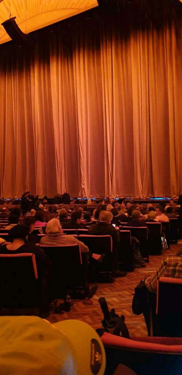 Radio City Music Hall, section: Orchestra 2, row: QQ, seat: 213
