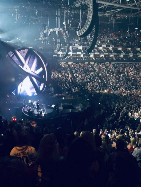 The O2 Arena, section: 118, row: Y, seat: 4