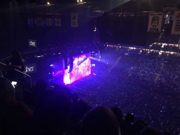 Prudential Center, section: 231, row: 6