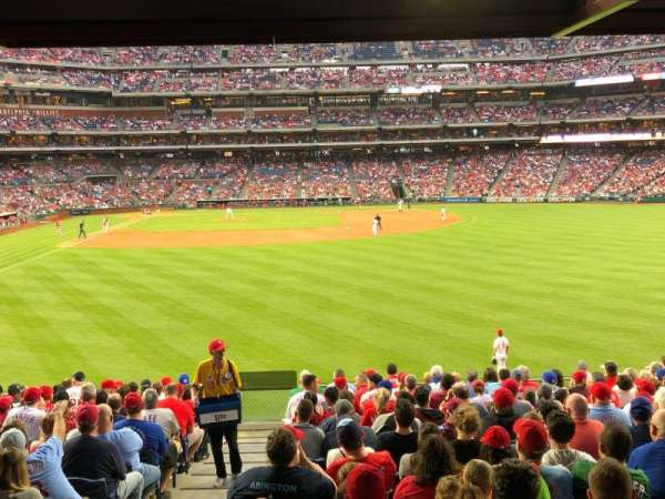Citizens Bank Park, section: 104, row: 17, seat: 9