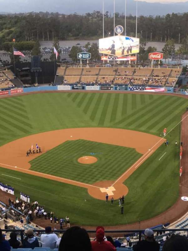 Dodger Stadium, section: 5TD, row: L, seat: 8