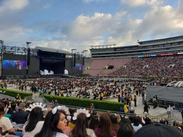 Rose Bowl, section: 7-L, row: 14, seat: 4
