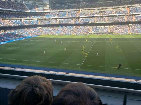 Santiago Bernabéu Stadium, section: 302, row: 1, seat: 26