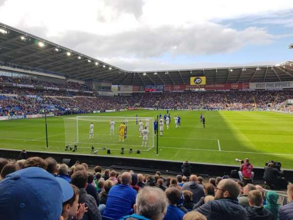 Cardiff City Stadium, section: 124, row: L, seat: 38