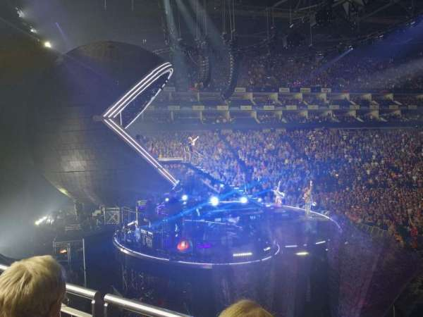The O2 Arena, section: 118, row: P, seat: 532